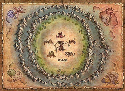 祝由宗主城 海底幻境 地图