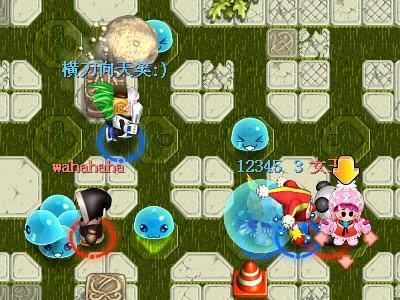泡泡岛游戏地图