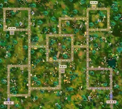 超级武林大富翁游戏地图