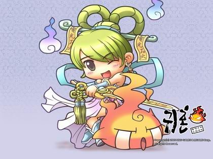 韩《鬼魂online》超可爱壁纸欣赏(图)