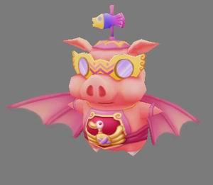 飞天猪-强盗爱富商 骑着飞猪去打劫 图文
