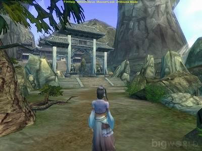 记者在一些相当专业的游戏业界论坛,却发现了几张用bigworld引擎制作图片