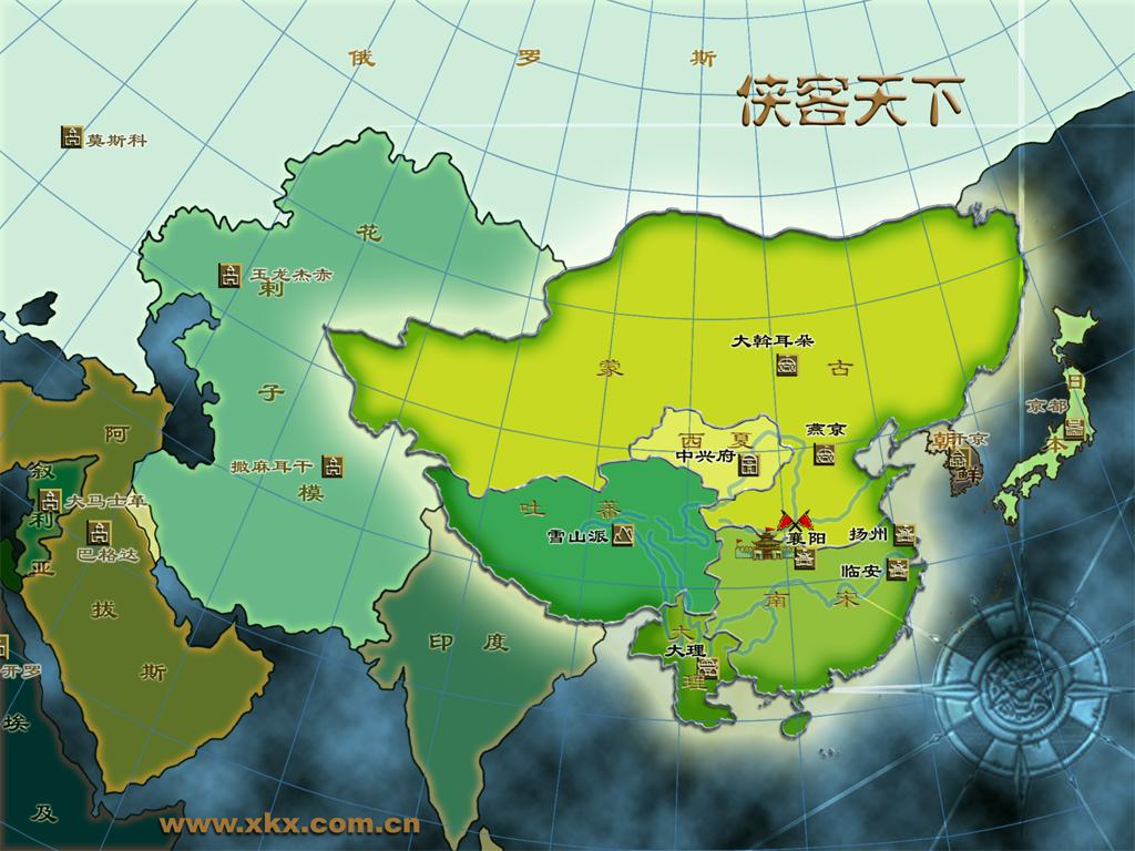 欧亚大陆地图