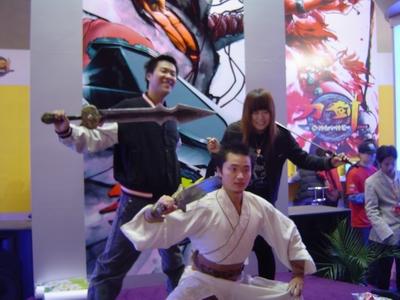 在本次网博会的剩余时间里,《刀剑online》还将有更加精彩...