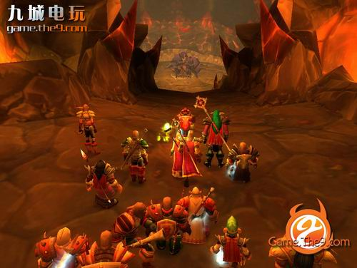 组图:魔兽世界60级玩家大战黑龙公主
