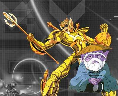 七,天平座黄金圣斗士——童虎
