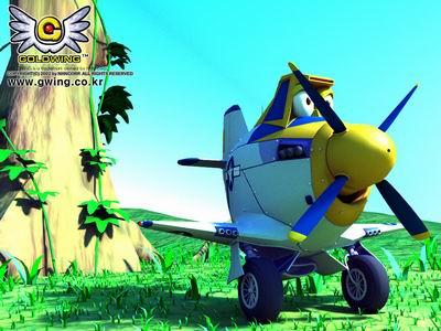 组图:面临停飞的韩国网游可爱战斗机们