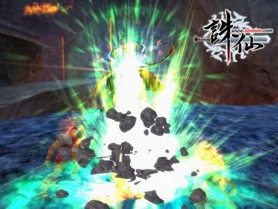 诛仙正式版真元剑气破魔阵 新技能图赏
