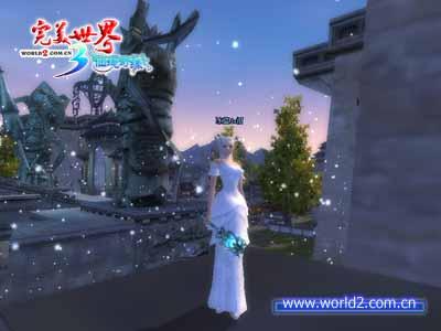 耀服务器的玩家冰蓝de泪和《完美世界》星辰服务器的玩家吹气球的图片