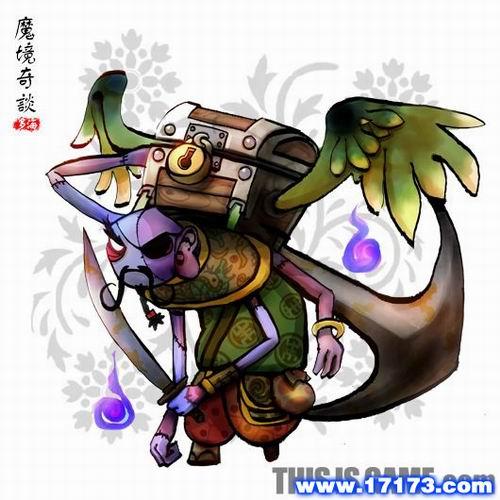 魔灵为跟随玩家角色的小动物的灵魂,可以根据玩家的指令进行直接攻击图片