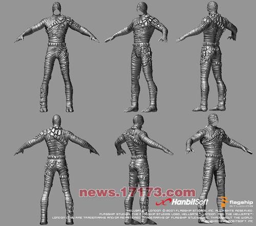 图文:《暗黑之门》角色建模制作过程-网络游戏新闻