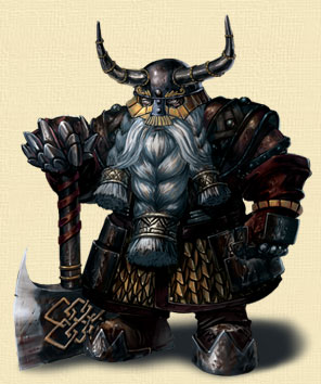 《龙影》种族之矮人篇:坚强好战的代表