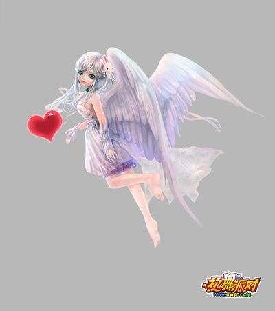 游戏资讯_当恶魔爱上天使 《热舞派对》原画赏析_网络游戏新闻