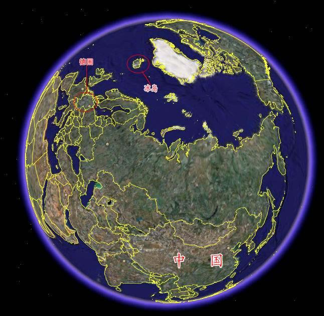 北欧地图矢量图