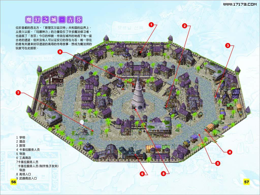 仙境传说地图