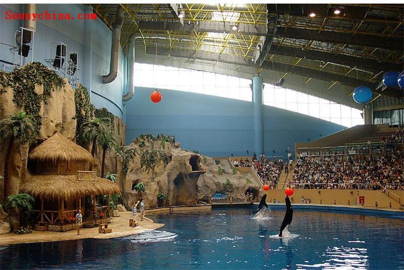 北京海洋馆旅游图(02); 海洋剧院; 北京动物园.