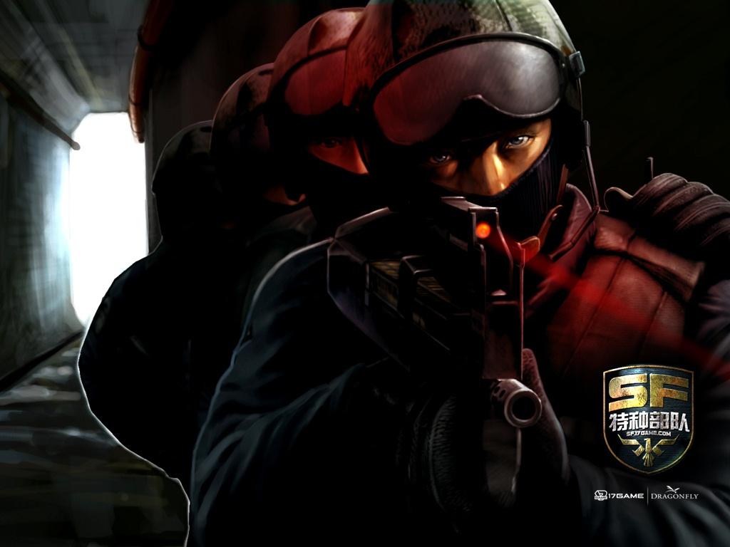 sf特种部队游戏官方_特种部队枪械训练