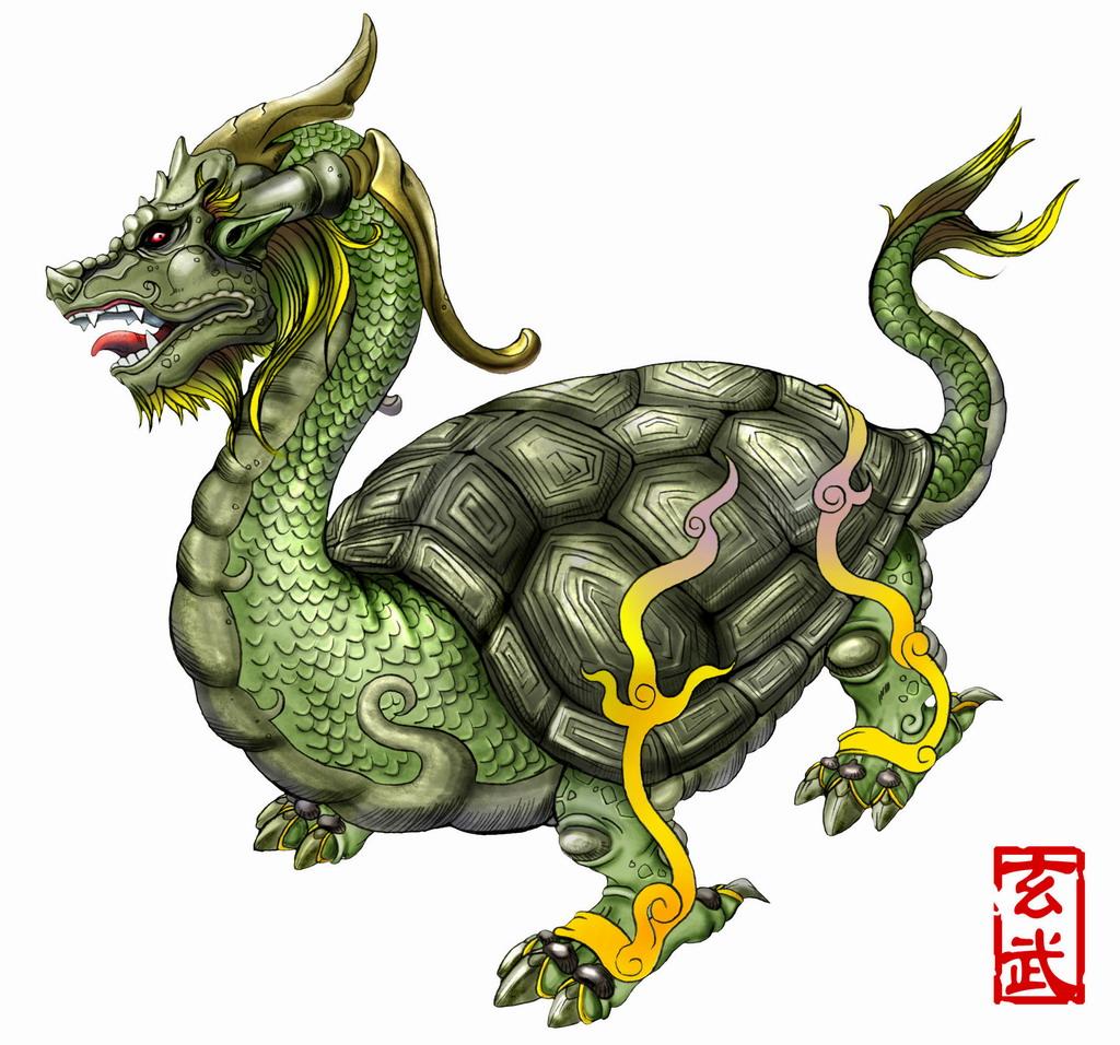 玄武,纹身玄武,最大的玄武神龟(第2页)_点力图库