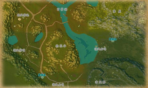 蒼南風景分布圖