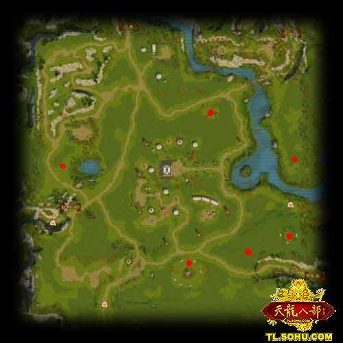 刷万灵石的详细地图天龙八部——17173网络游戏专区