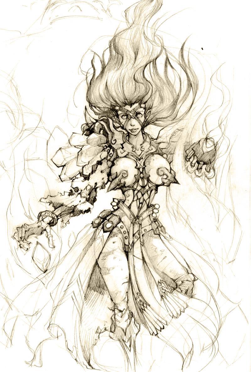 魔兽世界 - 漫画壁纸-战斗在外域的部落