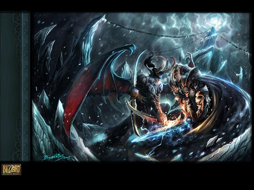 魔兽世界 - 漫画壁纸-魔兽壁纸