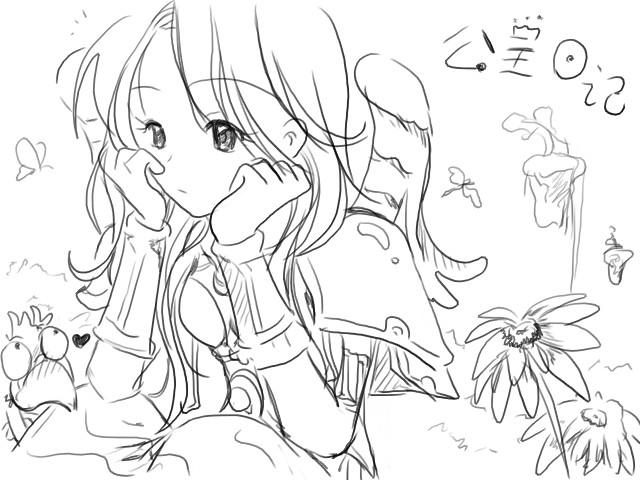 超萌可爱公主简笔画古代