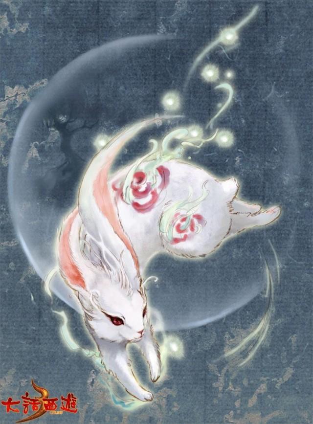 神武神兽玉兔饰品 神武神兽玉兔变身卡 神武神兽玉兔怎么得
